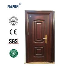 Venda la mejor puerta de acero de alta calidad y nuevo diseño (RA-S021)