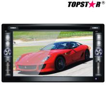 Lecteur DVD de voiture double DIN 2DIN de 6,2 pouces avec système Wince Ts-2014-2