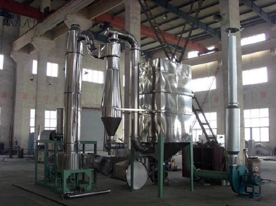 High Output Spin Flash Dryer Equipment