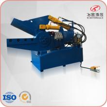 Máquina de corte hidráulico de jacaré de tubo de aço
