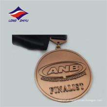 Austrália apresenta medalha de musculação de metal natural de metal de revestimento