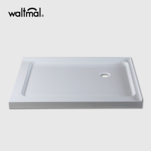 "60""×32"" Acrylic Material Right Drain Shower Base"