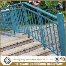 Outdoor Steel Pipe Stair Handrail