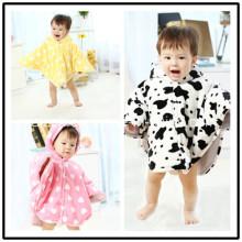 Capa para niños de invierno y otoño con capucha para bebés