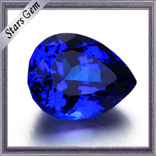 Popular Special Tanzanite Color Pear Cubic Zirconia for Jewelry