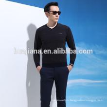 Дизайн 2016 мужская 100% шерсти свитер V шеи