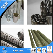 300 Series Stainless Steel Perforated Pipe for Decoration
