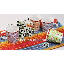 Tasse de café droite / bonne tasse de thé / tasses à café en couleur unie