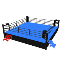 boxing ring 14x14 mini 4x4 20x20 6mx6m Customized used high quality canvas elstic ropes good price professional kick boxing ring