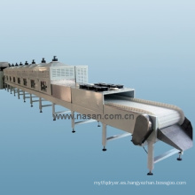 Secador de microondas de túnel Nasan de Shanghai