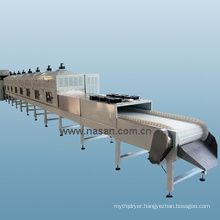 Shanghai Nasan Microwave Tea Drying Machine