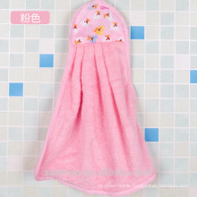 Towel baby 100% cotton hooded baby towel gift for stylish mother Fits newborns infants and toddlers-- Wrap in pink