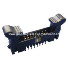 2.00mm Pitch Box Header with Latches of Straight Type and Tin or Gold Plating