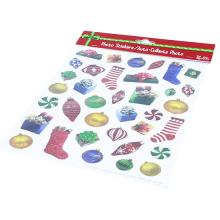 Kinderaufkleber-Fabrik-frohe Weihnachten sterben heraus dekorativen kundenspezifischen Kuss-Schnittaufkleber