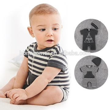 2017 Hot Sale Newborn Baby Boy Clothes Romper Baby Jumpsuit
