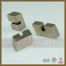 Segmento de cuchilla de corte de granito de diamante de suministro directo de fábrica