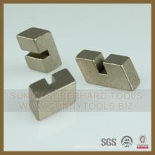 Segmento de lâmina de corte de granito de diamante de fornecimento direto da fábrica
