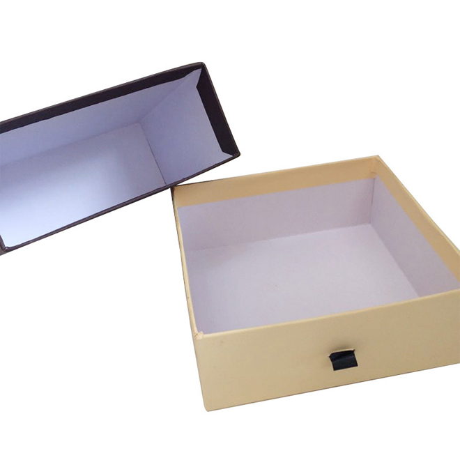 kraft paper sliding rigid box