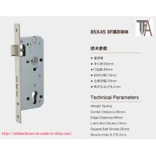 84 * 45 Cuerpo de la cerradura de puerta de la alta calidad para el uso casero