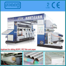 2500mm super-speed plastic film slitting machine of BOPP, PET, CPP,BOPP film