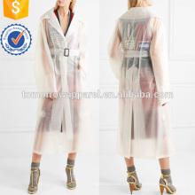 Con cinturón de goma PU Trench Coat Manufacture Wholesale Fashion Women Apparel (TA3014C)