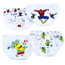 Cute Cartoon Printed Crianças Tanga Underwear Meninos Underpants Crianças Underwear Kids Wear
