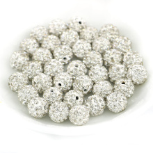 A quality crystal pave beads in bulk PV001