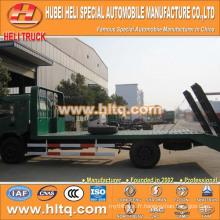 DONGFENG marque 120hp 6-7tons 4X2 camion à lit plat meilleur prix vente chaude pour l'exportation en Chine.
