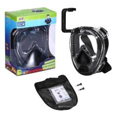 Óculos de natação anti-nevoeiro fáceis de respirar