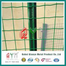 PVC revestido soldado Wire Wire malha Euro cerca