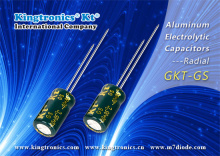 Kt Kingtronics Radial Aluminum Electrolytic Capacitors- GKT-GS: Outstanding Performance and More Benefits You Can`t Miss!