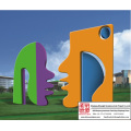 Plaza Decoration Stainless Steel Sculpture