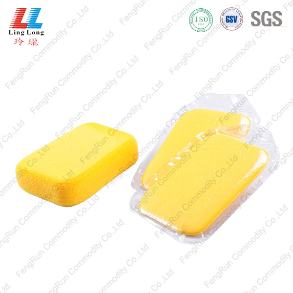 yellow rectangle sponge