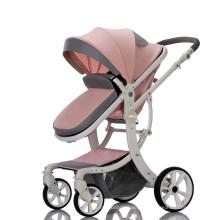 2019 горячая продажа коляски для младенцев OEM высокого качества кожаная детская коляска для младенцев