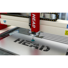 Capaz máquina automática de corte de chapa de ferro de jato de água para as indústrias