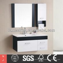 Классический ПВХ-глянцевый европейский / ближневосточный гостиничный шкаф для ванной комнаты Европейский