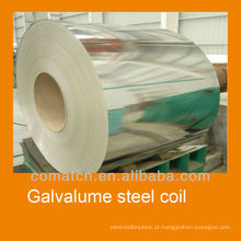 Bobinas de alta qualidade chapa de aço Galvalume 2013, Alu-zinco