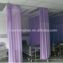 China-Lieferanten-Qualität gebogenen Stab antibakterielle Krankenhaus Vorhang