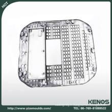 L'électrodéposition d'OEM partie des pièces d'éclairage de moulage mécanique sous pression L'aluminium fait sur commande services de moulage mécanique sous pression