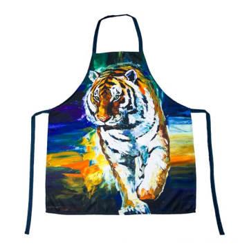 Cozinha 2018 da mulher maravilha de KEFEI que pinta o avental super do cozinheiro chefe