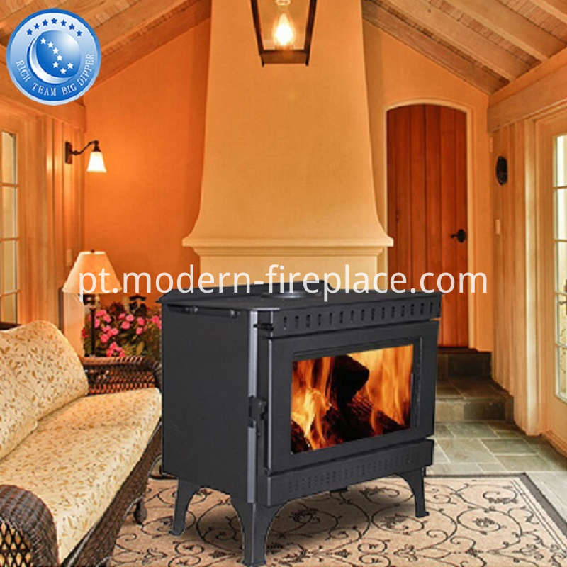 In Fireplace Zero Clearance Log Burner