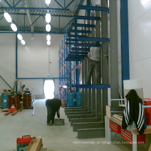 Alta qualidade de estantes de cantilever galvanizado