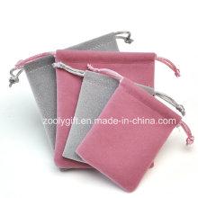 Drawstring Jewelry Velvet Pouch Gift Bag