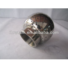 Bola de limpeza fixa de aço inoxidável