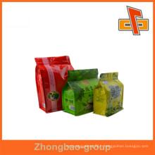 Sacs en plastique biodégradables pour l'emballage de thé à feuilles mobiles