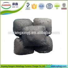 Globoid Si-Mn/Silicon Manganese Alloy with Low Burning Loss Rate