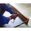 Porta de madeira avaliado do fogo da armação de aço de BS476 60mins