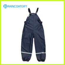 Rum-020 Youth Classic PU Overalls Snow Bib