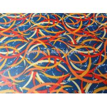 Promoción africana barato poliéster material de cera nigeriano Impreso tela Brocade ventas al por mayor y al por menor de calidad