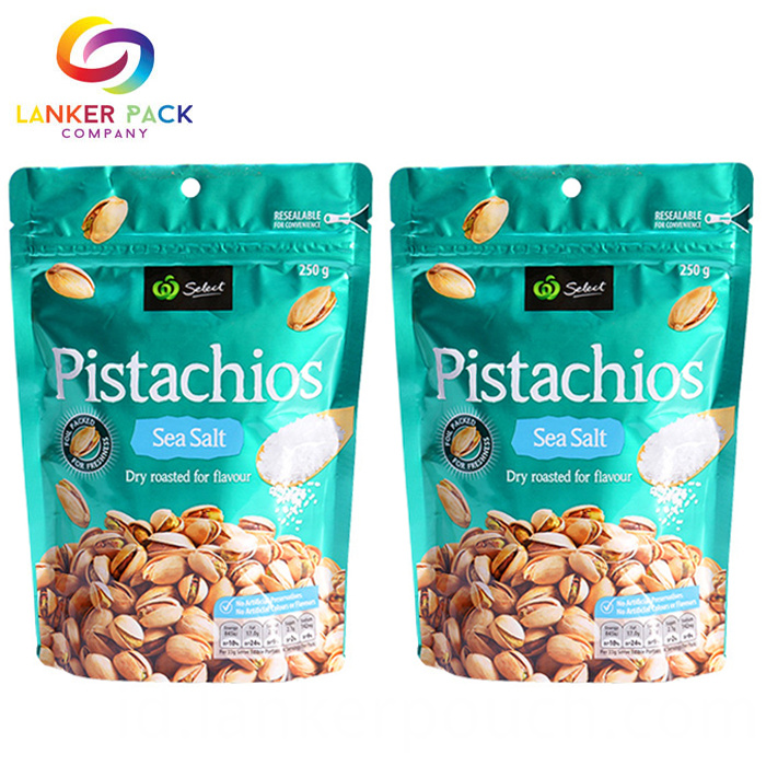 Custom Printed Dry Fruits Plastic Packing Bag